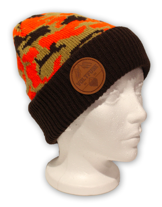 Orange Hunter Beanie