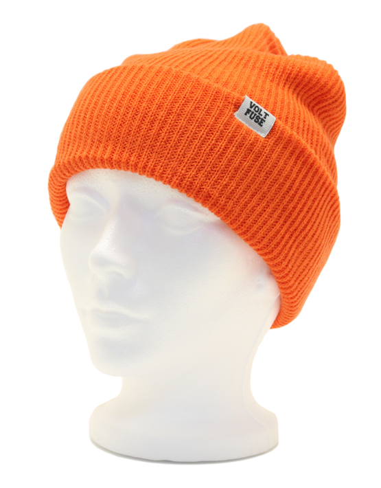 Orange Scout Beanie