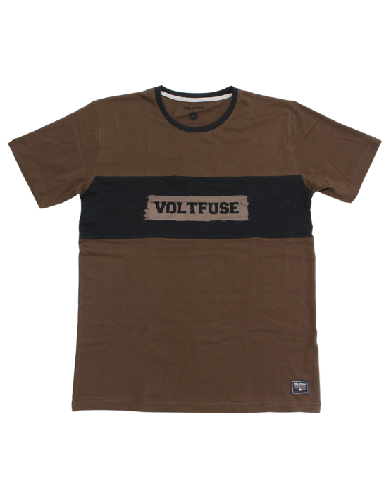 Brown Squared T-Shirt