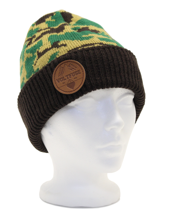 Green Hunter Beanie