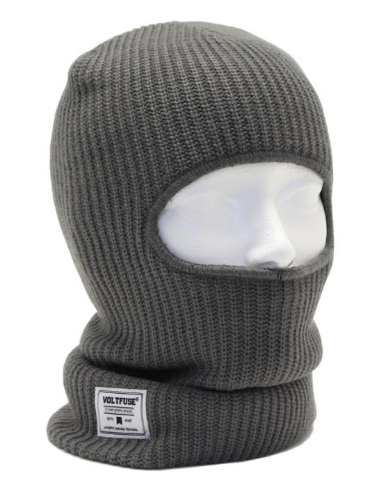 Grey Knit Clava