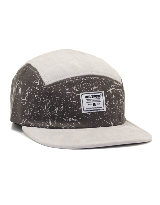 Grey/Charcoal Splash Cap