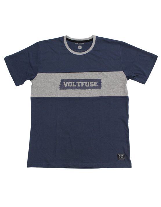 Navy Squared T-Shirt