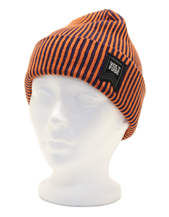 Orange/Navy Colonel Beanie