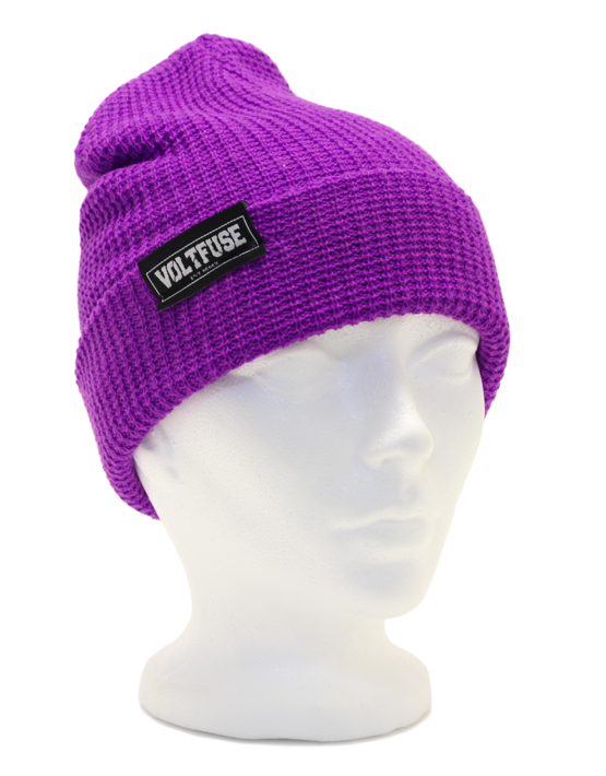 Purple Ace Beanie