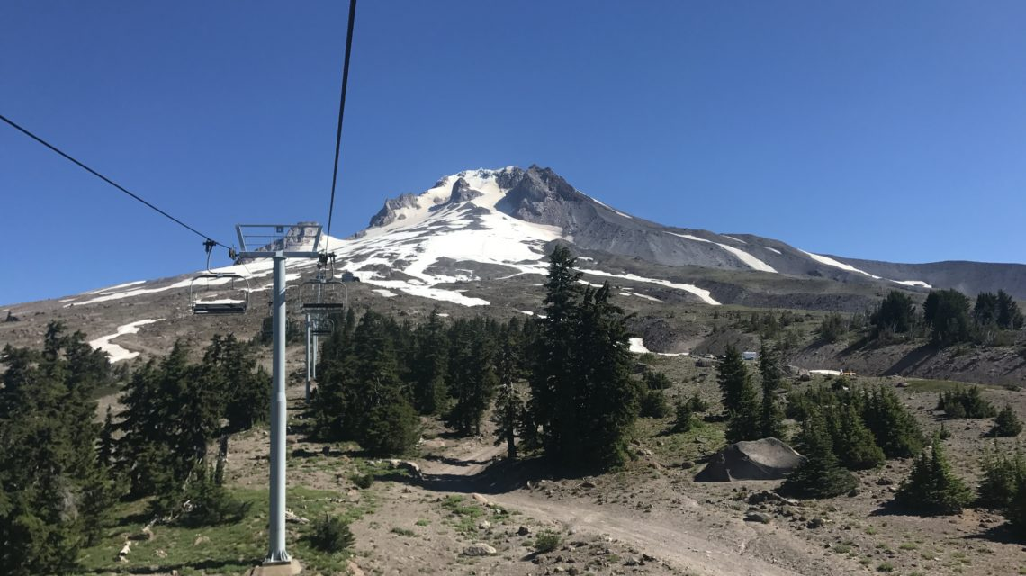 Chairlift at Mt. Hood