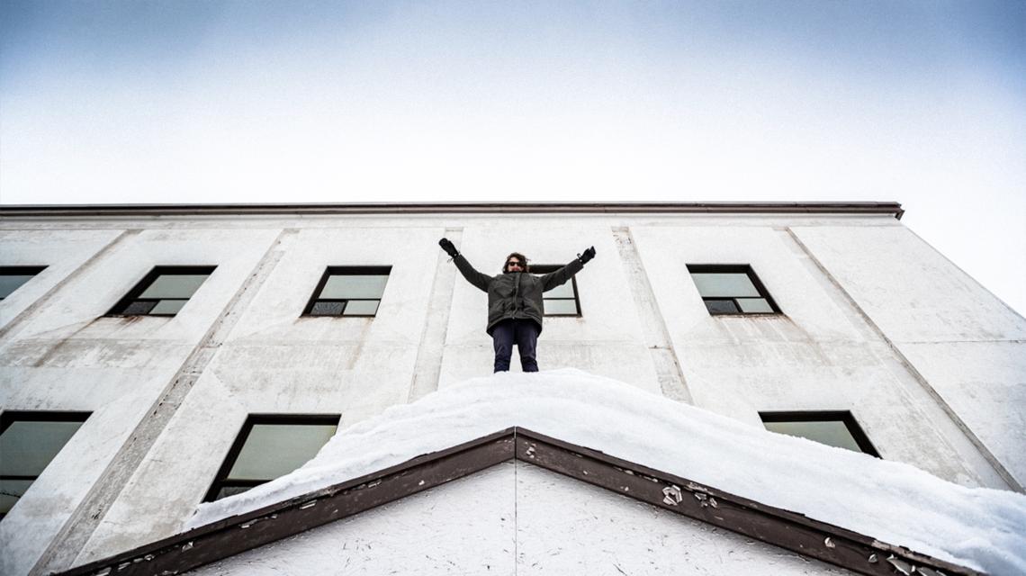 Alex Mitchell in Labrador City